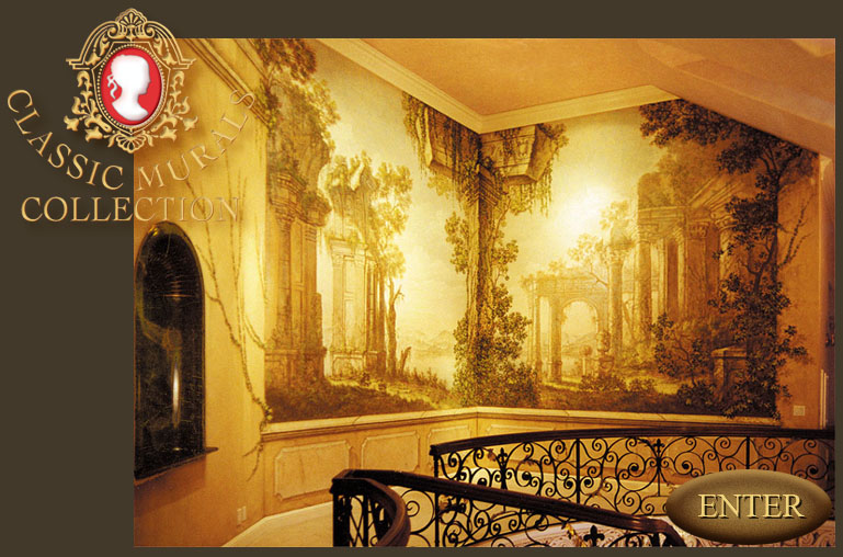 Custom wallpaper murals 2015 best auto reviews for Classic mural painting
