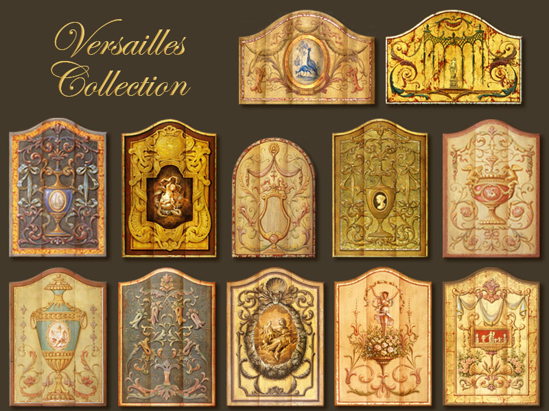 Classic murals versailles collection best muralist in for Classic mural painting